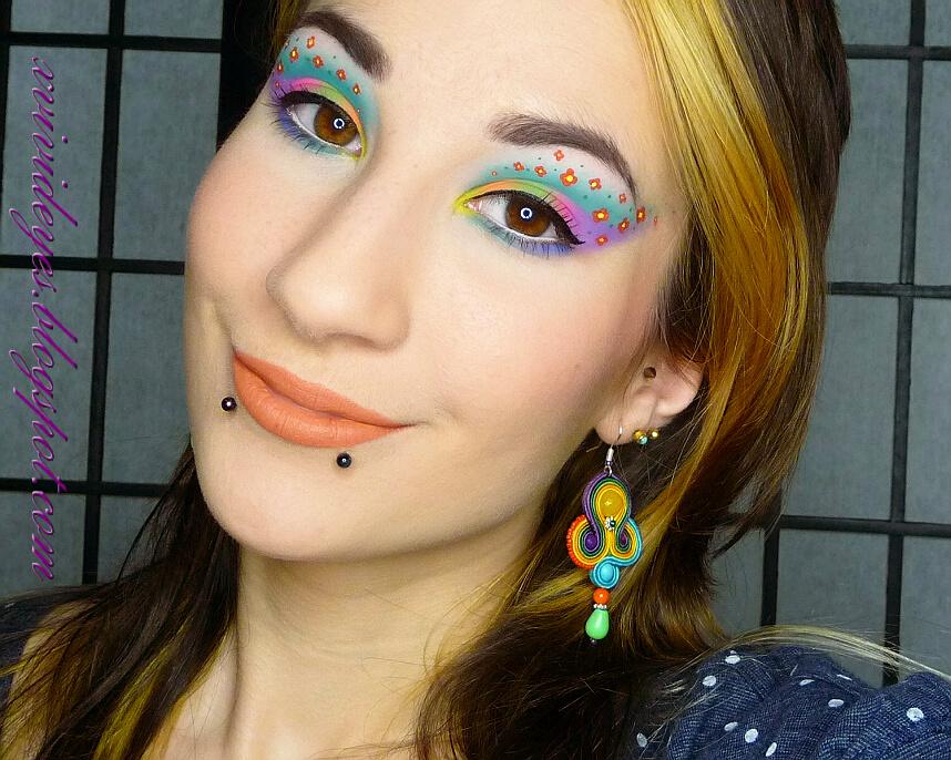 Piękny świat Makijażu Taida Make Up Bardzo Kolory Makijaż