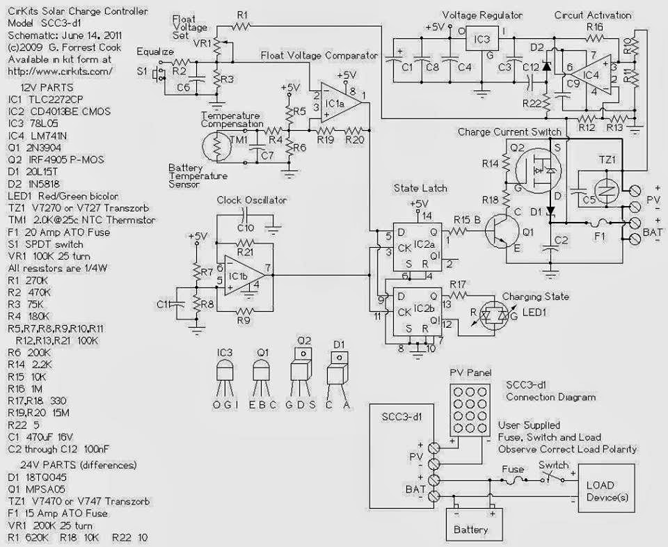 rangkaian solar charger controller   layout pcb
