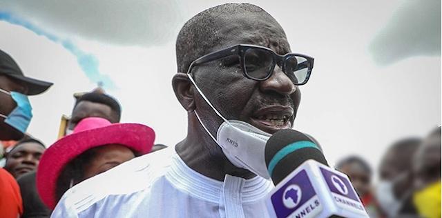 I'll never become godfather in politics, Obaseki shades Oshiomhole