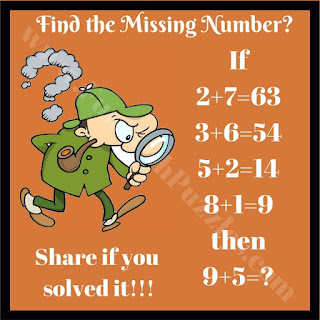 Can you solve this Maths Logical Equation?