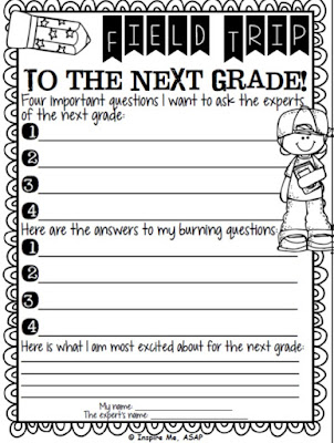 https://www.teacherspayteachers.com/Product/Hip-Hip-HoorayIts-a-field-trip-to-the-next-grade-1870361