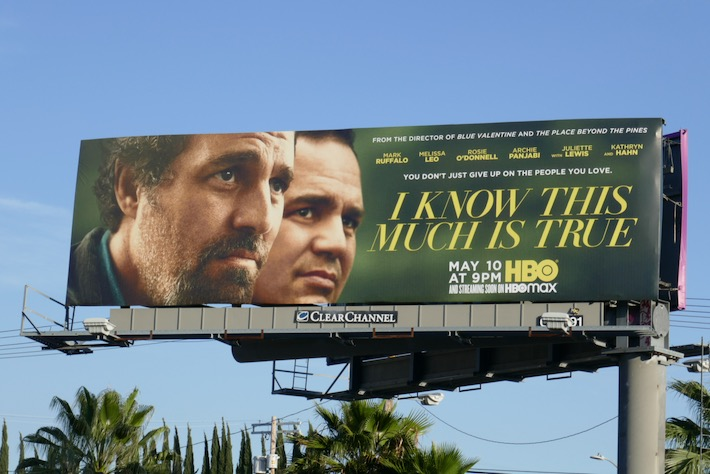 I Know This Much Is True series billboard