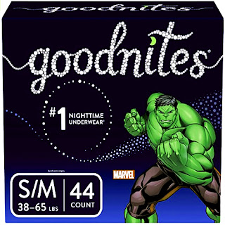 GoodNites Bedtime Bedwetting Underwear