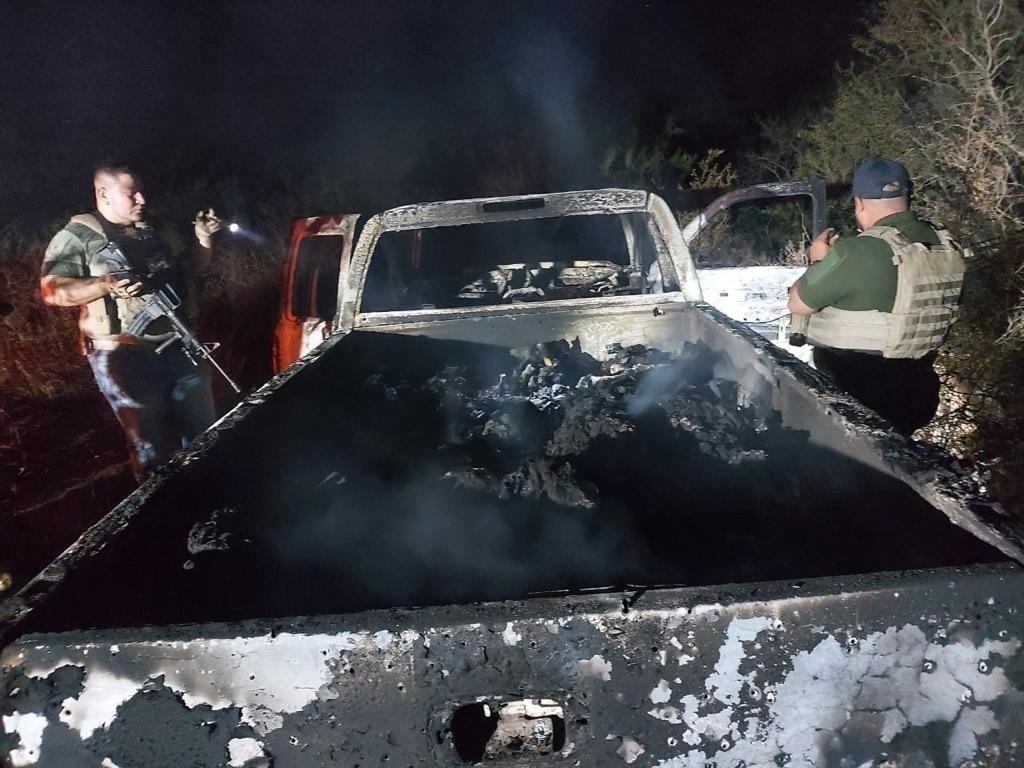 Identifican cuatro de los 19 cuerpos calcinados en Camargo, Tamaulipas, dos eran mexicanos y dos guatemaltecos