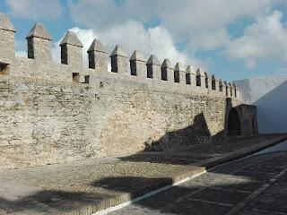 La muralla que rodeaba a Vejer de la frontera