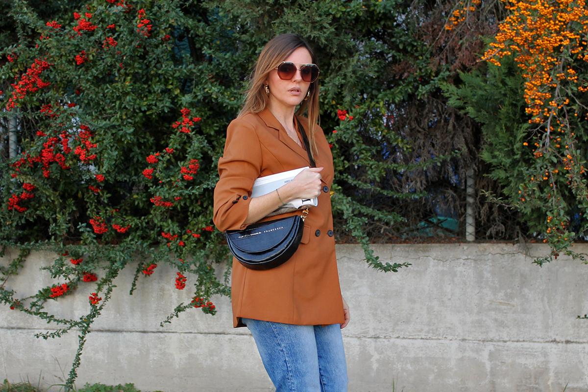 blazer marrone autunno 2020