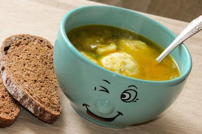 Овощной суп с сырными шариками рецепт