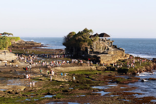 Vista general de Tanah lot (Bali)