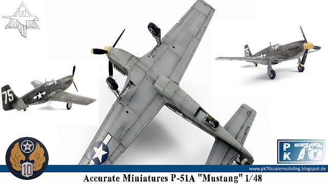 Accurate Miniatures P-51A