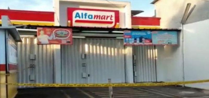 Todongkan Pisau, Polisi  Tembak Mati Satu Perampok Minimarket