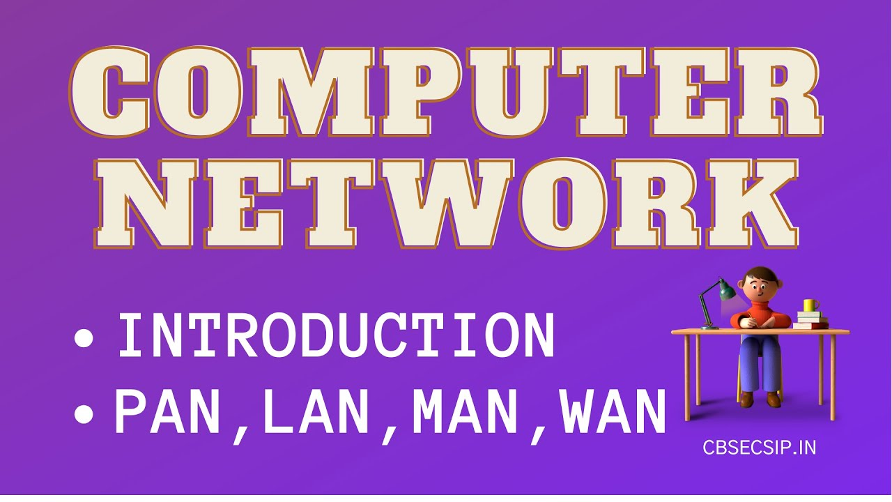Computer Network LAN, MAN, WAN