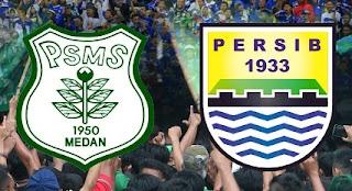 Persib Bandung Lawan PSMS Medan 26 Maret 2017