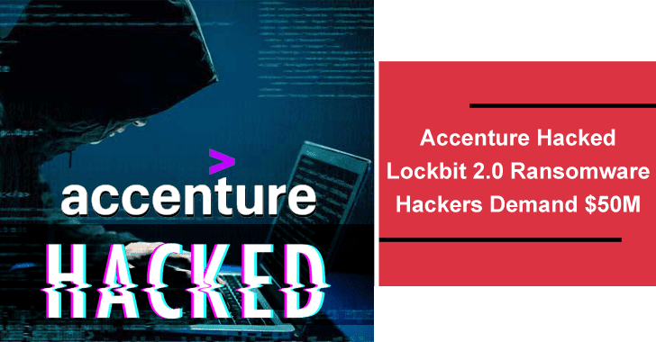 Accenture Hacked – Lockbit 2.0 Ransomware Hackers Demand M