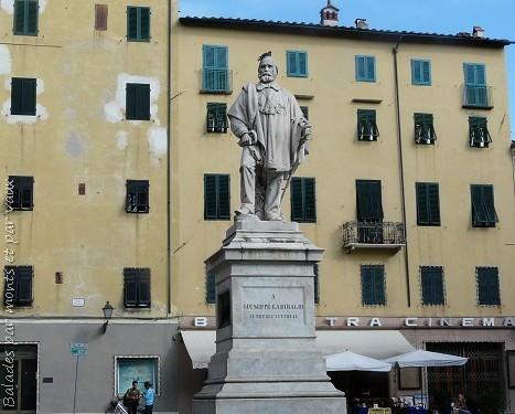 Statue de Giuseppe Garibaldi