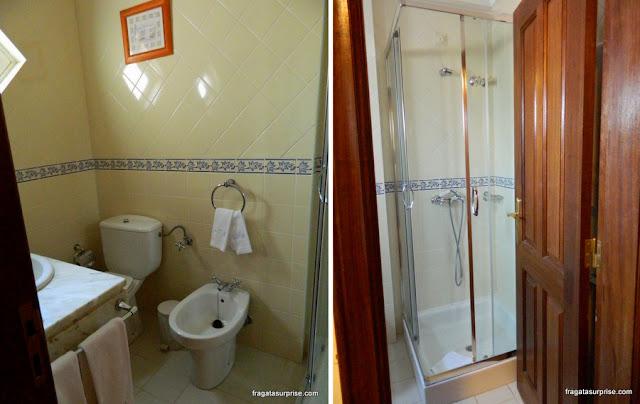 quarto da hospedaria rural Casa São Faustino de Fridão, em Amarante