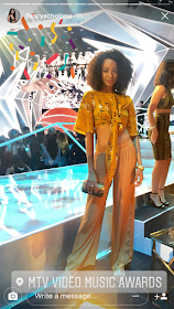 International Model Fancy Acholonu Stuns In New Pictures At The MTV VMAS
