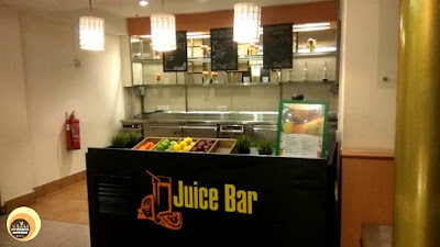 Juice Bar, The Sweet Corner, Taman Sari Restaurant, Hotel Istana
