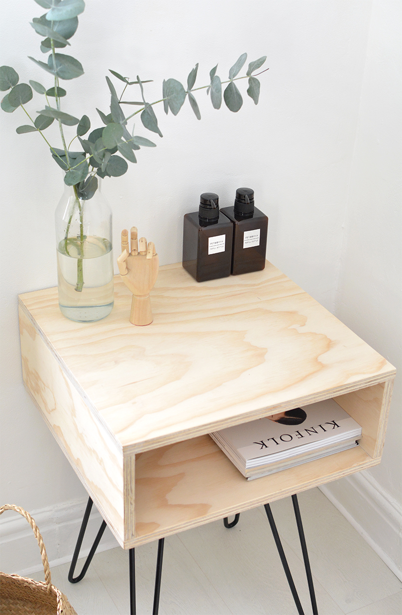 DIY mid century nightstand | BURKATRON