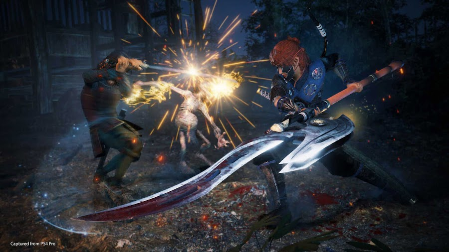 nioh 2 open beta weapon switchglaive ps4 november 2019 team ninja koei tecmo games sony interactive entertainment