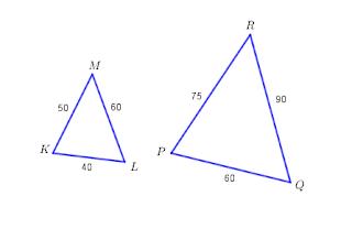 perbandingan sisi-sisi segitiga yang sebangun