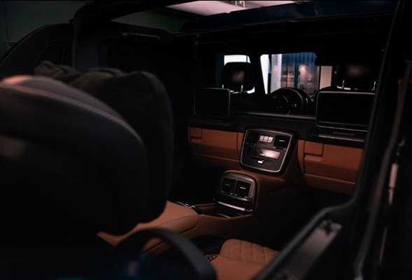 Dashboard Mercedes Maybach G650 Landaulet