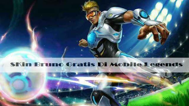 Cara Mendapatkan SKin Bruno Gratis Di Mobile Legends