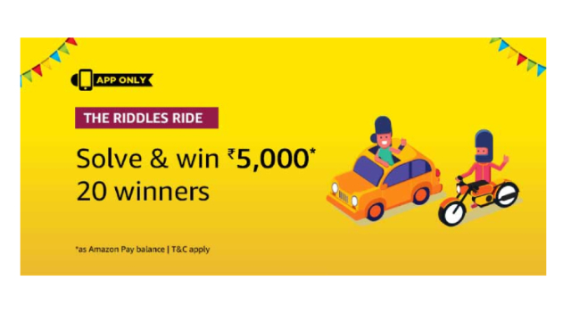 Amazon The Riddles Ride Quiz Answers Today