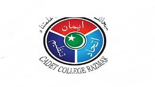 Cadet College Razmak North Waziristan Jobs 2021 in Pakistan