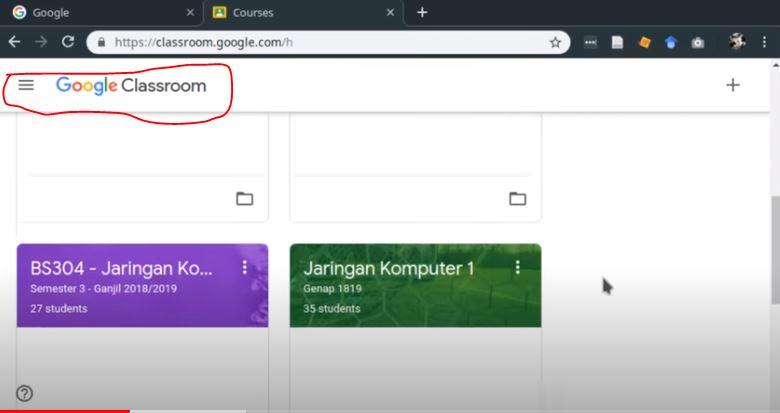 Cara Mengirim Tugas di Google Classroom HP