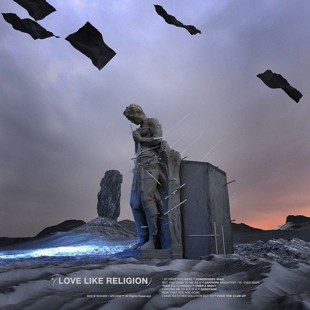 Wooks – Love Like Religion – EP
