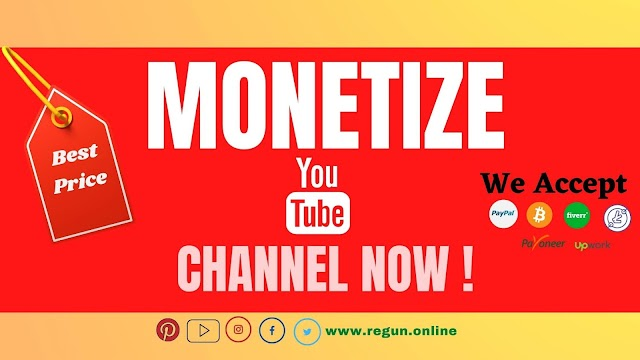 Monetize Your You tube Channel To Passive Income