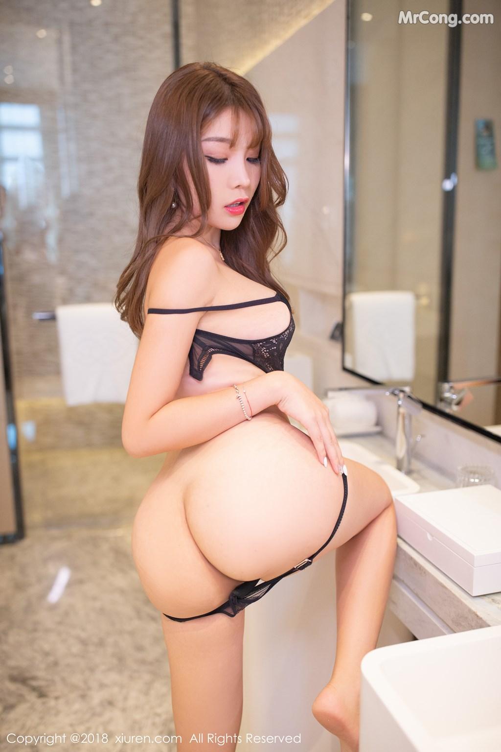 Image XIUREN-No.1278-Booty-Zhizhi-MrCong.com-008 in post XIUREN No.1278: Người mẫu Booty (44 ảnh)