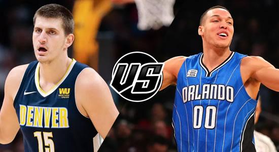 Live Streaming List: Denver Nuggets vs Orlando Magic 2018-2019 NBA Season