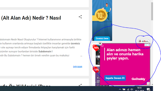 adsense alternatifi reklam verme şirketi