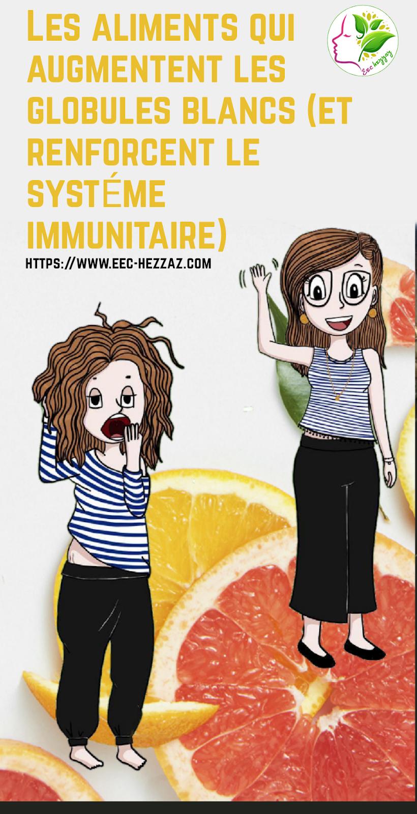 Les aliments qui augmentent les globules blancs (et renforcent le système immunitaire)