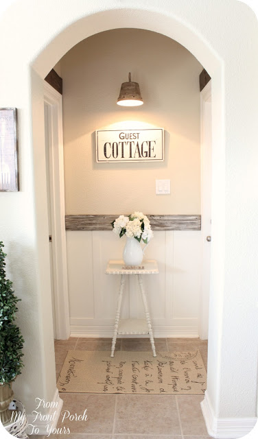 Cottage Style- Farmhouse -Guest Hallway-From My Front Porch To Yours