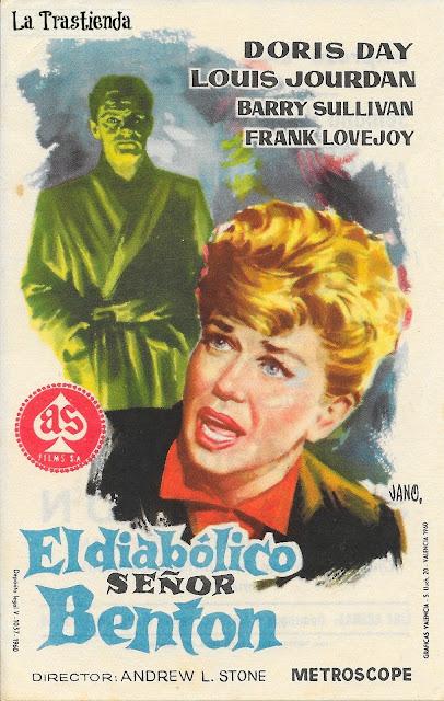Programa de Cine - El Diabólico Señor Benton - Doris Day - Louis Jourdan
