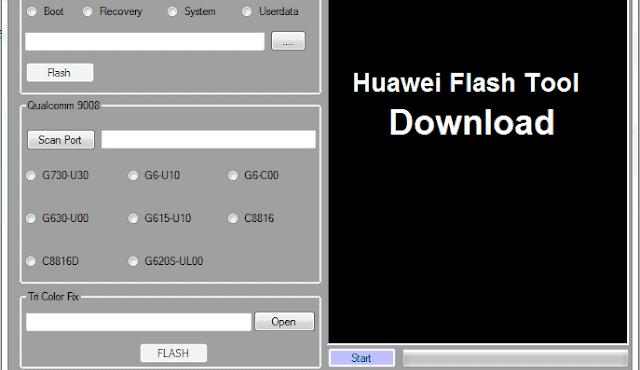 huawei-flash-tool