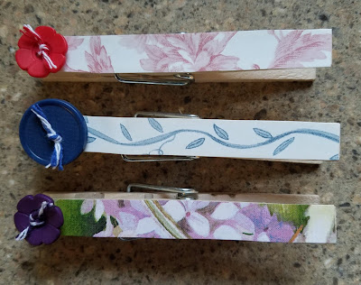 How to Make Clothespin Refrigerator Magnet