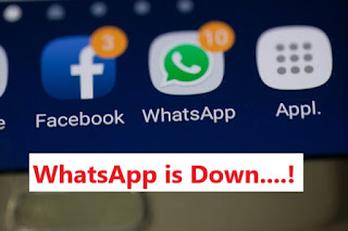 WhatsApp is down.