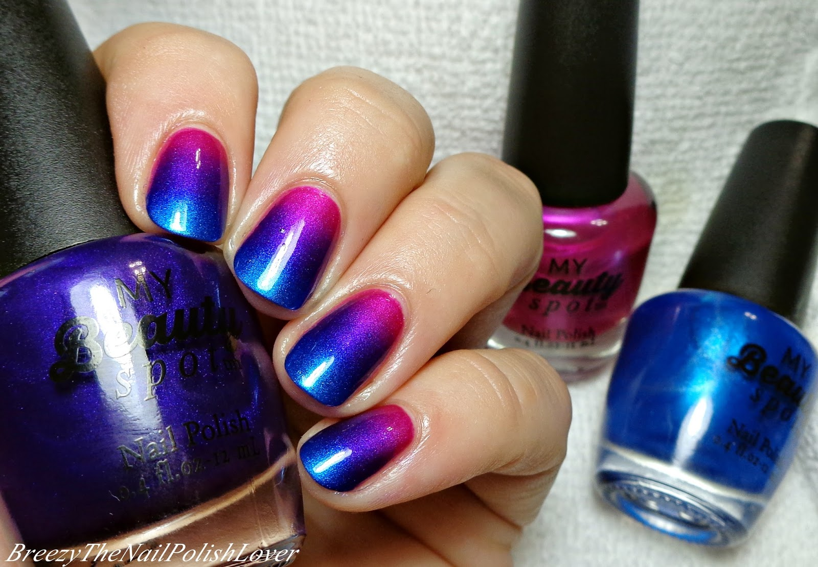 BreezyTheNailPolishLover: My Beauty Spot Nail Polish Nail Design #2!