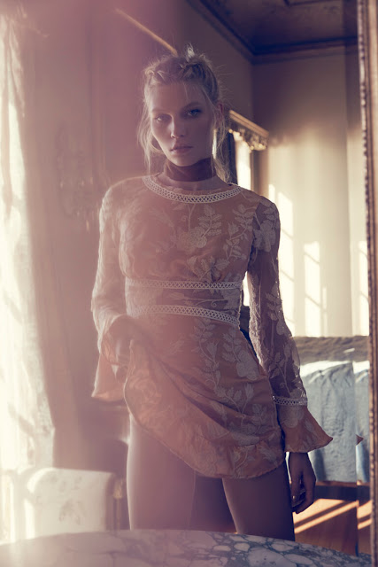Dreamy lace and enchanting prints for summer by For Love and Lemons Summer 2016 Collection