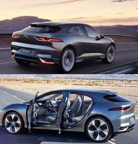 Design Exterior new Jaguar I Pace electrik