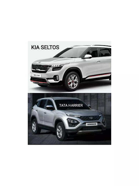 Kia Seltos vs Tata Harrier specification Comparison - Which is the Best Mid-SUV?