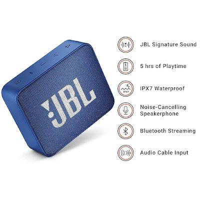Jbl go 2 waterproof speaker