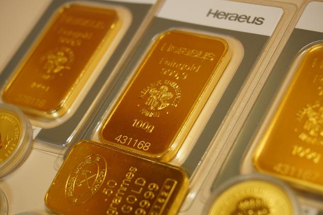 Guldpriset vänder ner från 1800 USD-nivån - breda börsnedgångar och vinsthemt...
