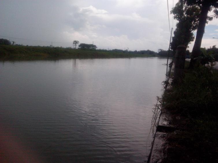 tempat mancing ikan potret arah barat