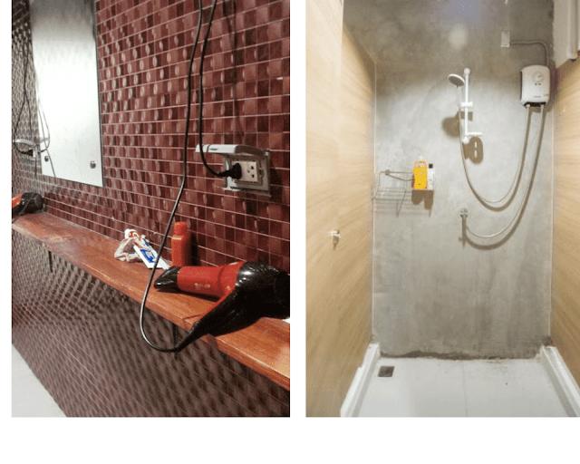 kamar mandi glur hotel