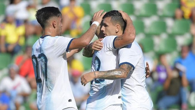 Jihar News, Argentina Gilas Ekuador 6-1 Dalam Laga Persahabatan