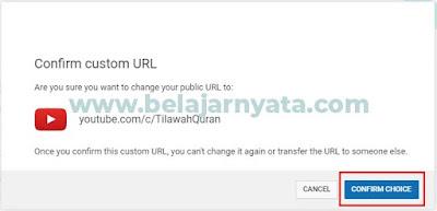 Cara Mendapatkan Custom URL Channel Youtube 2019